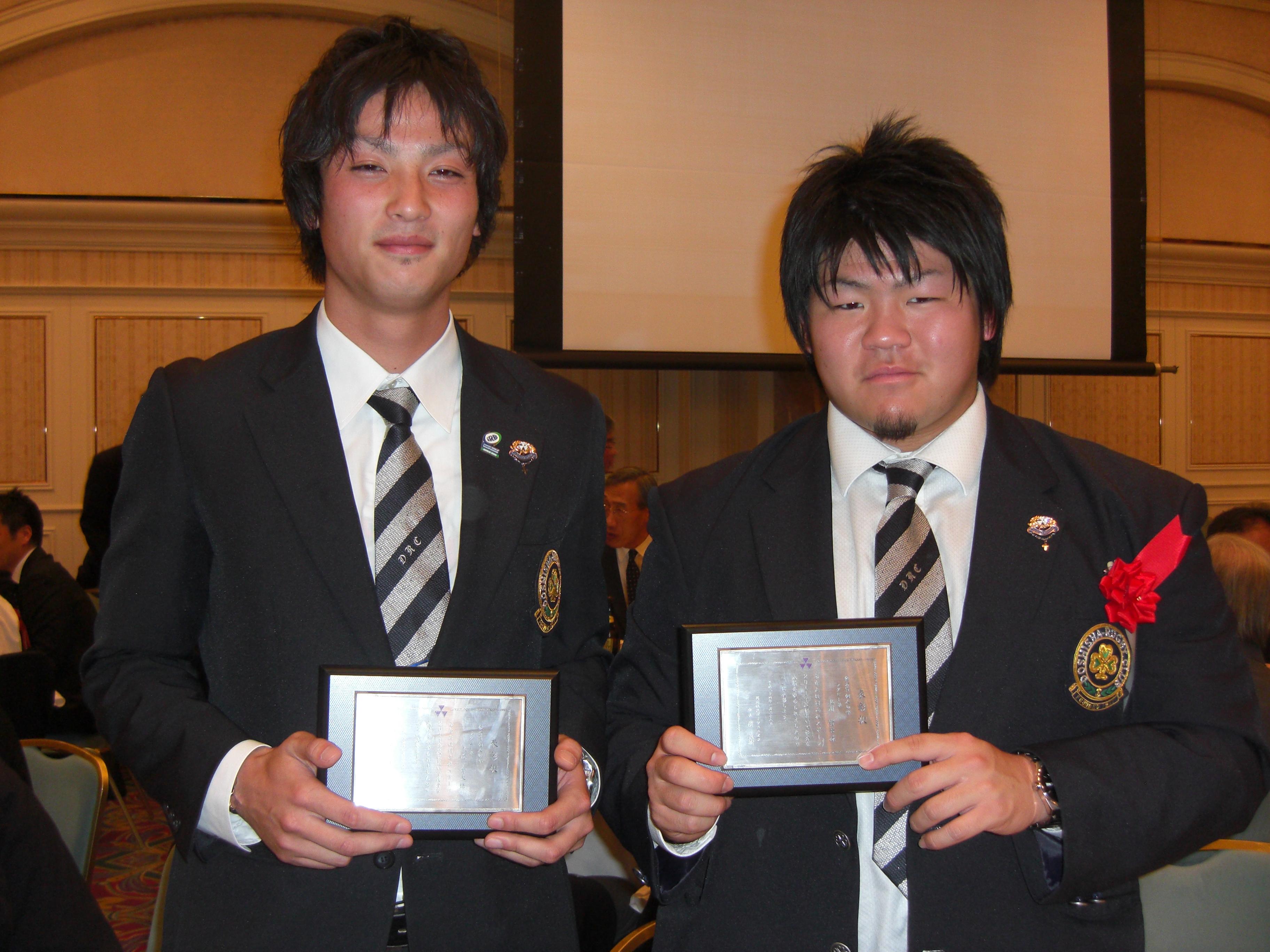 2011年度同志社スポーツユニオン祝勝会